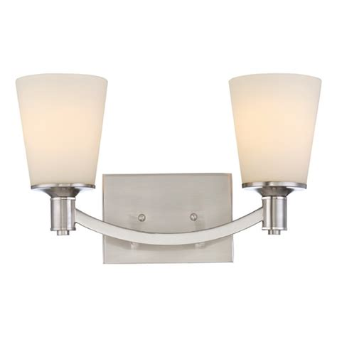 Nuvo Bathroom Lighting Nuvo Lighting Laguna Brushed Nickel Bathroom Light 60 5822 Destination Lighting