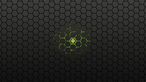honeycomb android android green power hexagon honeycomb walldevil