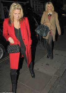 nicole appleton enjoys a girls night out with holly willoughby and emma bunton as she gushes