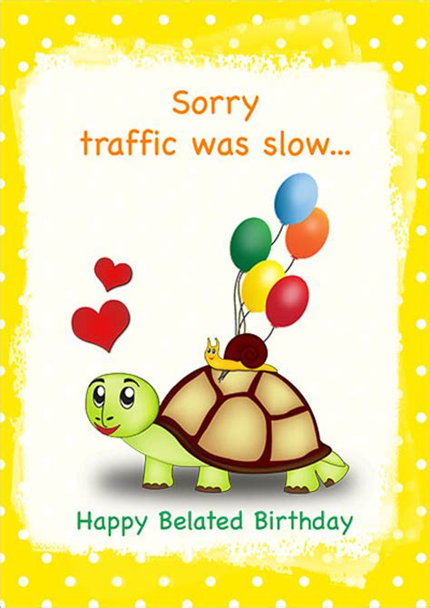 belated birthday card template printable birthday cards