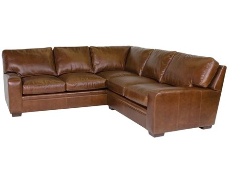 classic leather sectional classic leather vancouver sectional 4514 leather