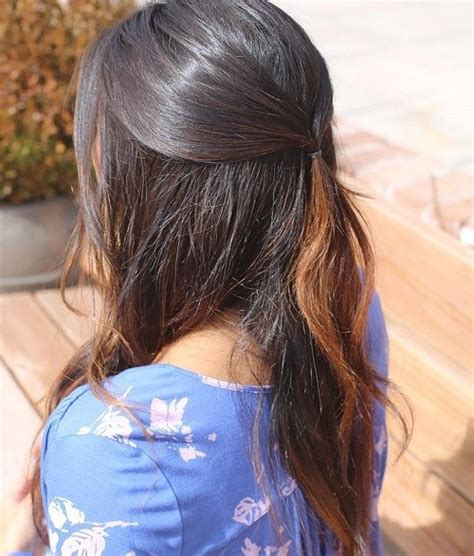 how do you do half up half down hairstyles 40 easy and chic half ponytails for straight wavy and