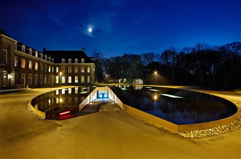 Underground Parking Garage Design james bond style pond and parking garage entrance by hosper