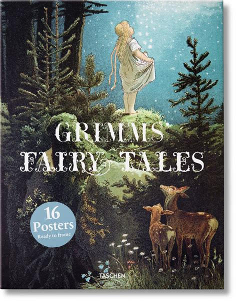 grimm tales coloring book box set books grimms tales poster set taschen books