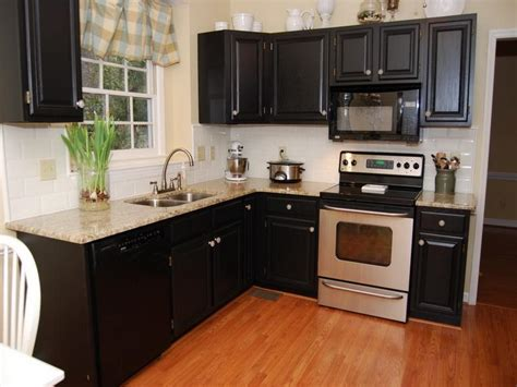 Bloombety Black Paint Color For Kitchen Cabinets Paint Kitchen Colors With Black Cabinets