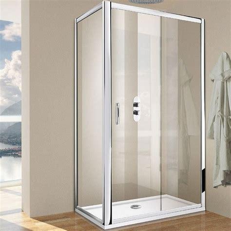 porta doccia 120 porta doccia scorrevole per nicchia da 120 cm cristallo