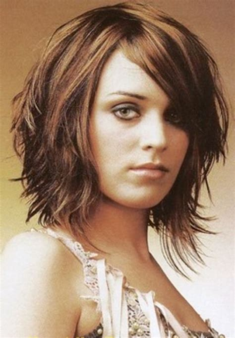 haircuts for square oval face 52 short hairstyles for round oval and square faces
