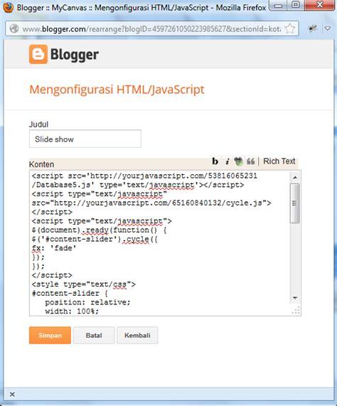 cara mudah membuat video slideshow cara mudah membuat slide show untuk blog mycanvas