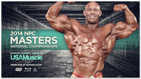 bob porzio body builder 2014 usamuscle com 2014 npc masters national chionships
