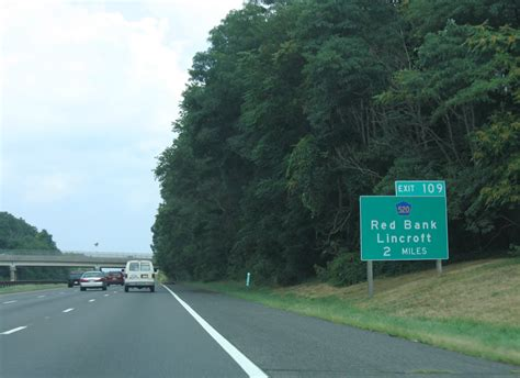 Exit 105 Garden State Parkway by Garden State Parkway Wall Township To Woodbridge Aaroads New Jersey