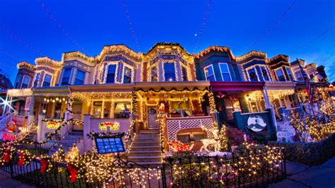 best christmas home decorations in brooklyn 6 neighborhoods with the wildest decorations realtor 174
