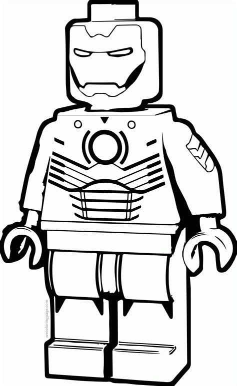 printable lego iron on lego iron man coloring pages coloring home