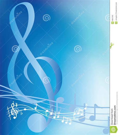 imagenes musicales para fondos notas musicales azules foto de archivo imagen 9961340