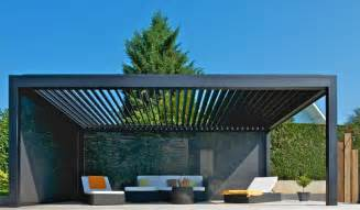 Pergola Louvers by Louvered Roof Realisation Pergola Brustor