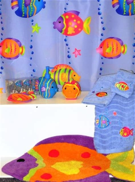 tropical fish bathroom decor kids tropical fish bathroom decor
