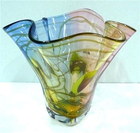 Decorative Glass Vases by Flower Vases Handmade Flower Vases By Adam Jablonski