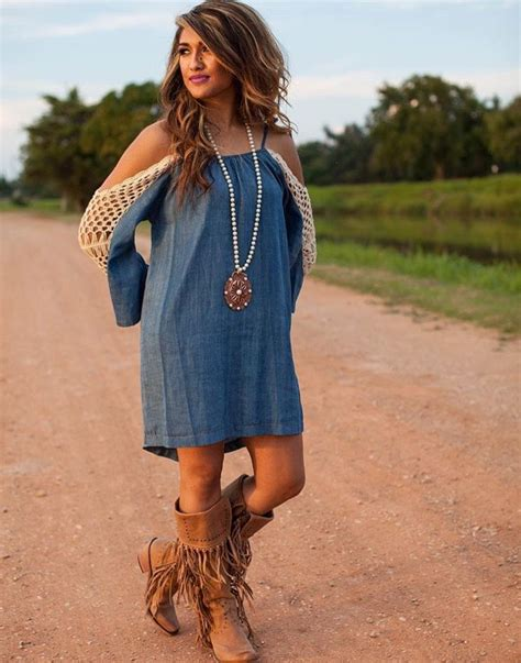 blue jean dress with boots 58 boots for dresses chic types of country