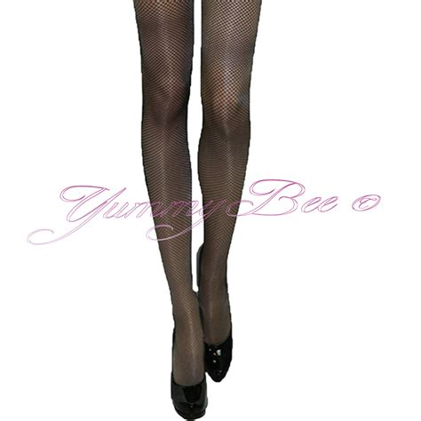 Bow Fishnet Tights bee lace hold ups seam sheer fishnet