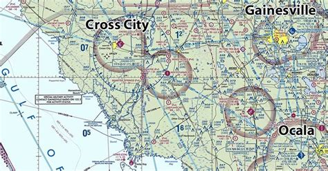 jacksonville sectional chart dixie county florida