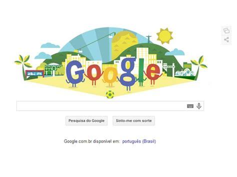 doodle do brasil g1 copa do mundo no brasil 233 tema da p 225 de buscas do
