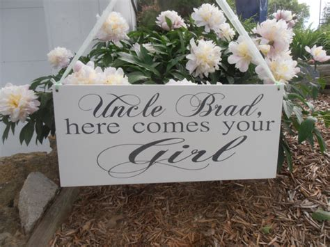wedding programs what to call my here comes the bride uncle here comes your girl sign ring bearer flower girl