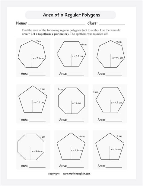 Polygons Worksheet by Math Worksheets On Polygons New Calendar Template Site