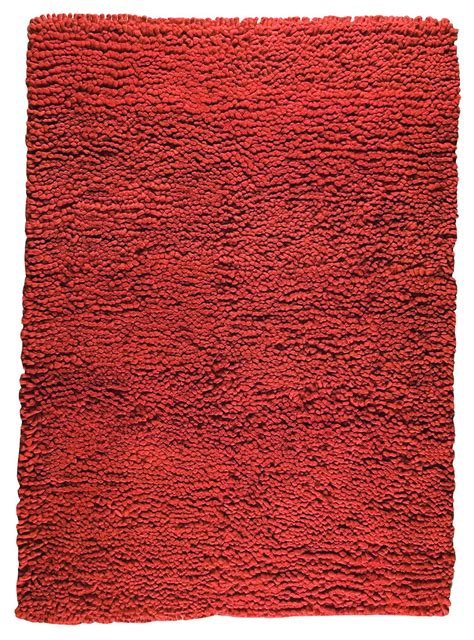 mat the basics berber area rug orange