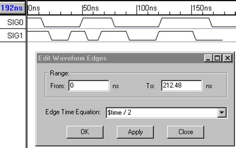 Waveform Drawing Tool