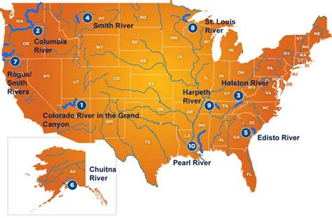 america rivers map news american rivers 2015 most threatened rivers list