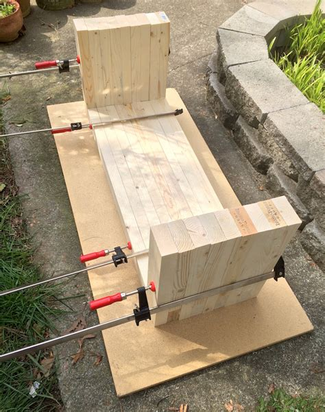 how to build a outside bench diy how to make outdoor bench quiet corner
