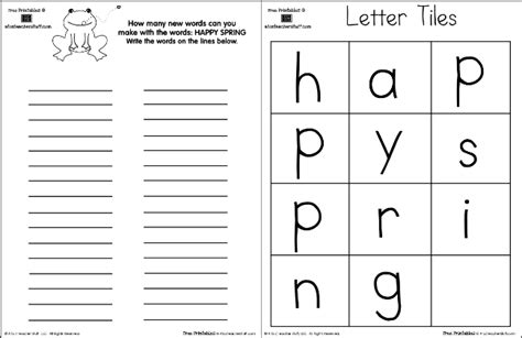 printable letters for making words how many words can you make from the letters in happy