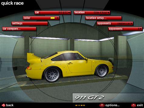 Need For Speed Porsche by Need For Speed Porsche Unleashed Porsche 97 911 Gt2 Race