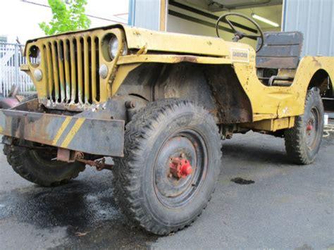 Flat Fender Jeep 1942 Ford Gpw Willys Mb Jeep Script Slat Grill Flat