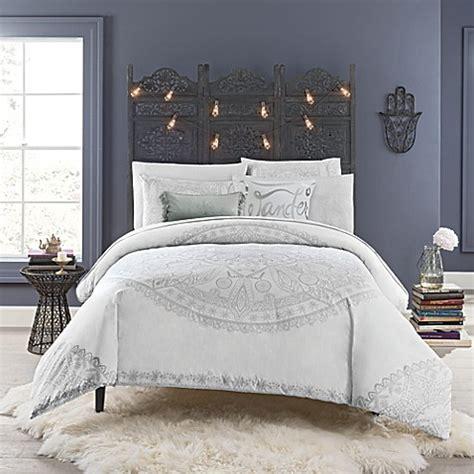 anthology bedding anthology astra medallion comforter set bed bath beyond