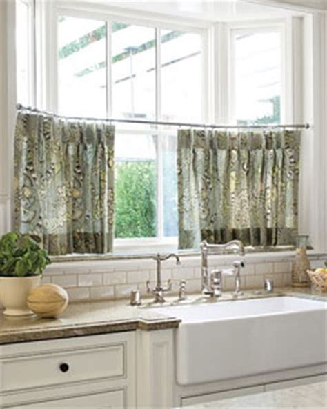 cafe style curtains for kitchens smart beautiful window treatments ideal for kitchens