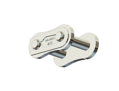 Senqcia Roller Chain Rantai Rs 40 2 senqcia hi max 174 40ss 304 stainless steel connecting link clip type asme ansi roller chain