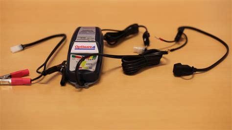 Motorrad Batterie Tot by Optimate 4 Motorrad News