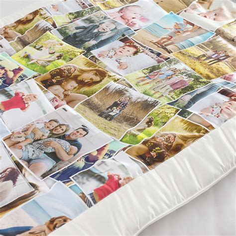 Custom Photo Quilts by Custom Memory Quilt Photo Quilts With Collage