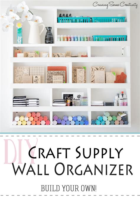 Home Decor Jars by Creative Thrifty Amp Small Space Craft Room Organization