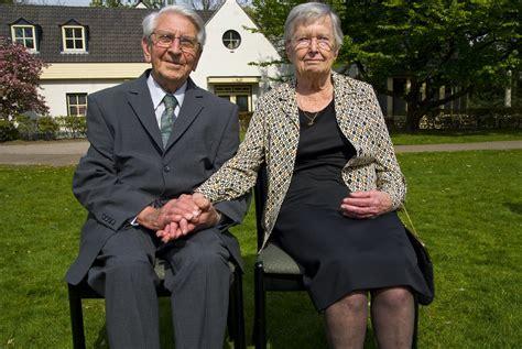 My Grandfather & Grandmother / Platinum wedding anniversar