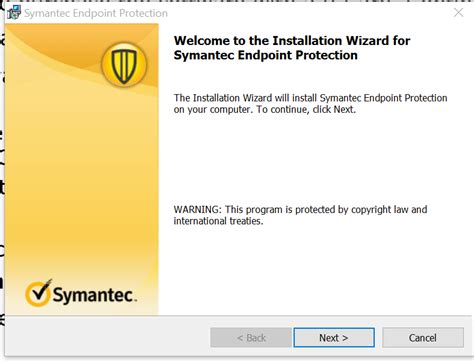 installation and use of should i remove it program how do i install and configure symantec endpoint