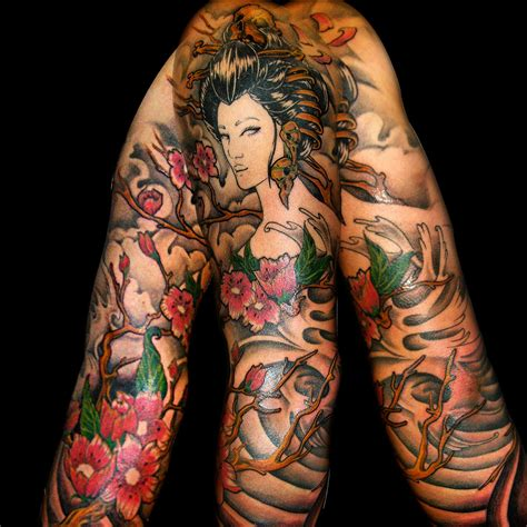 asian girls with tattoos japanese sleeve tattoomodels japanese