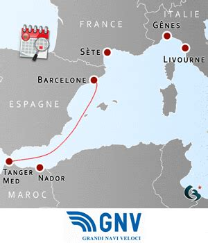 Calendrier 2018 S Il Vous Plaît Horaires 2017 Barcelone Tanger Med Gnv Grandi Navi Veloci