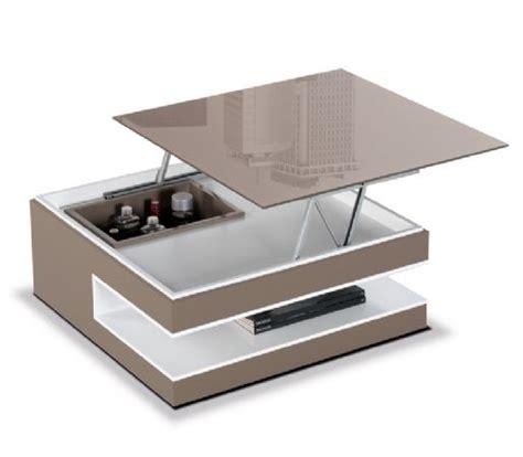 mesa cuadrada elevable 23 mesa de centro con botellero