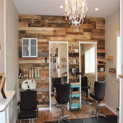 Small Home Hair Salon Ideas Pallet Furniture Ideas For A Hair Salon Small Salon Ideas
