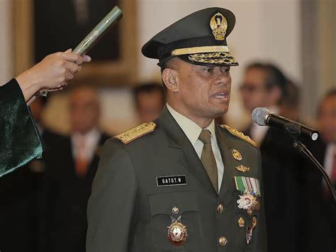 detik gatot nurmantyo presiden sby resmi lantik gatot nurmantyo menjadi ksad