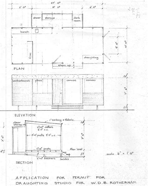 Rotherham Bruce Lost Property Building Plans Rotherham
