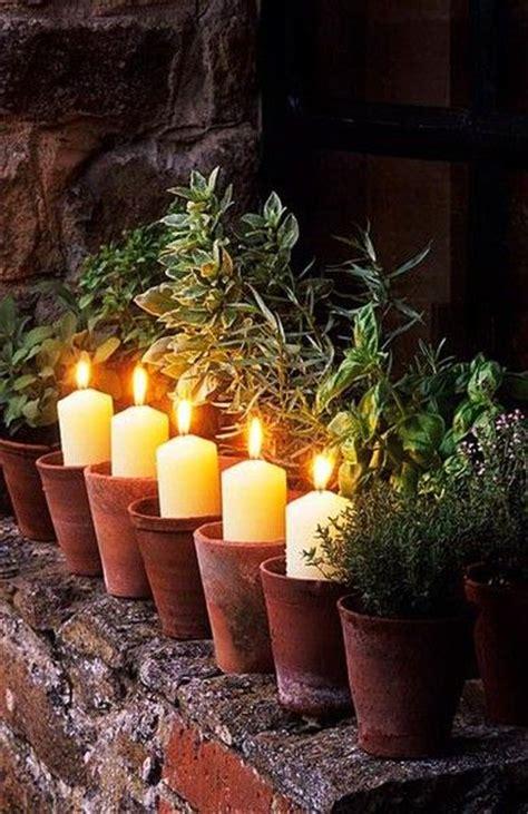 Dänische Kerzenhalter by Diy Garten Dekoideen Mit Tont 246 Pfen Die Ganz Leicht