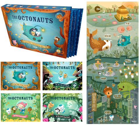 the octonauts books