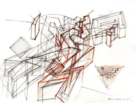 jewish museum berlin floor plan never say the eye is rigid architectural drawings of daniel libeskind